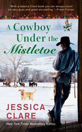 Cover image for A Cowboy Under the Mistletoe