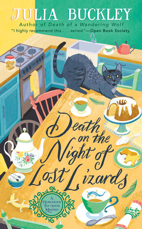 Cover image for Death on the Night of Lost Lizards
