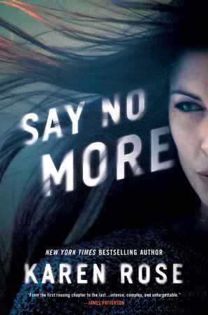 Cover image for Say No More