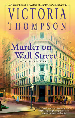 Cover image for Murder on Wall Street