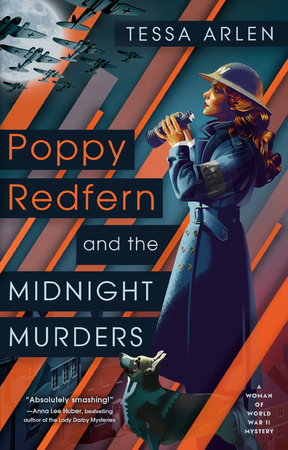 Cover image for Poppy Redfern and the Midnight Murders