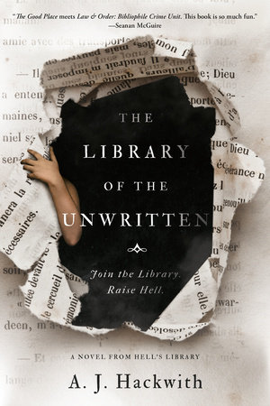 Cover image for The Library of the Unwritten