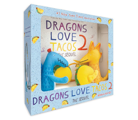 Dragons Love Tacos 2 Book and Toy Set