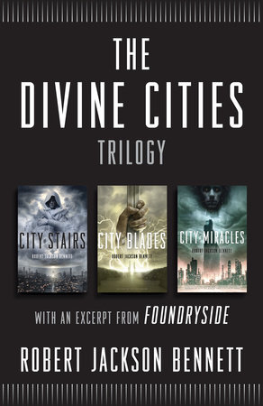 The Divine Cities Trilogy book cover