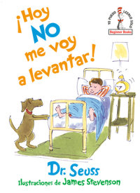 Book cover for ¡Hoy no me voy a levantar! (I Am Not Going to Get Up Today! Spanish Edition)