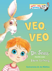 Book cover for Veo, veo (The Eye Book Spanish Edition)