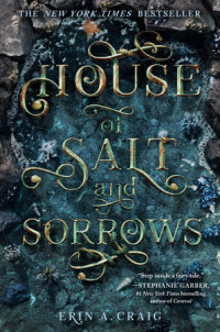 Cover of House of Salt and Sorrows cover