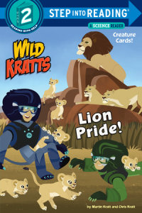 Book cover for Lion Pride (Wild Kratts)