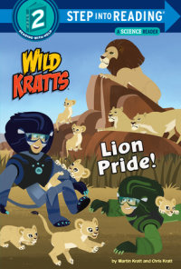 Cover of Lion Pride (Wild Kratts) cover