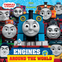 Book cover for Engines Around the World (Thomas & Friends)