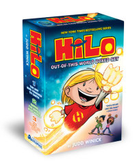 Book cover for Hilo: Out-of-This-World Boxed Set