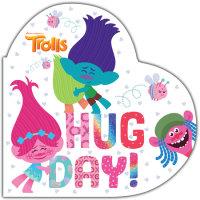 Book cover for Hug Day! (DreamWorks Trolls)