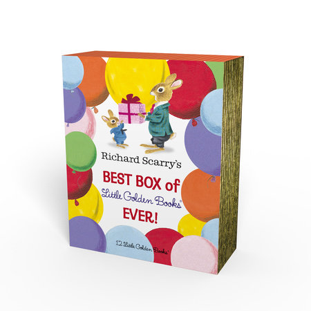 Richard Scarry's Best Box of Little Golden Books Ever!