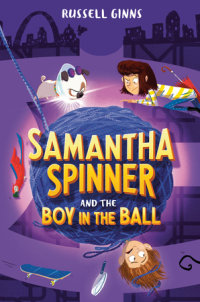 Book cover for Samantha Spinner and the Boy in the Ball