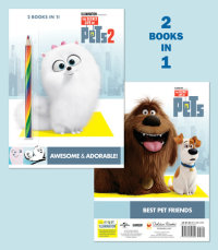 Book cover for Awesome & Adorable! (The Secret Life of Pets 2)/Best Pet Friends (The Secret Life of Pets)