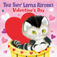 Book cover for The Shy Little Kitten\'s Valentine\'s Day
