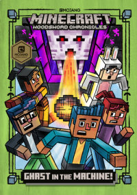 Cover of Ghast in the Machine! (Minecraft Woodsword Chronicles #4) cover