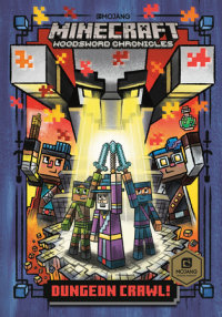 Cover of Dungeon Crawl! (Minecraft Woodsword Chronicles #5) cover
