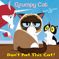 Book cover for Don\'t Pat This Cat! (Grumpy Cat)