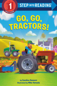 Cover of Go, Go, Tractors! cover