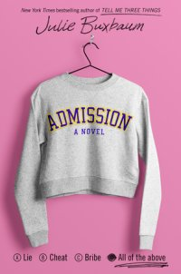 Book cover for Admission