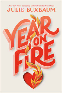 Book cover for Year on Fire