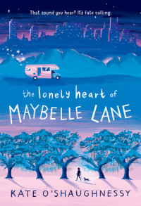 Book cover for The Lonely Heart of Maybelle Lane