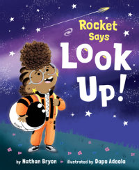 Cover of Rocket Says Look Up! cover