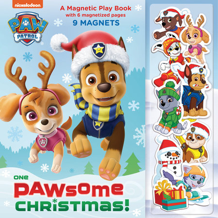 One Paw-some Christmas: A Magnetic Play Book (PAW Patrol)