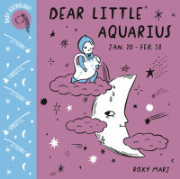 Book cover for Baby Astrology: Dear Little Aquarius