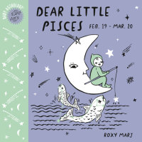 Book cover for Baby Astrology: Dear Little Pisces