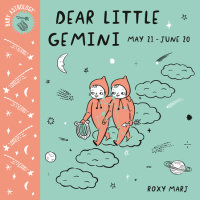 Book cover for Baby Astrology: Dear Little Gemini