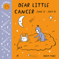 Book cover for Baby Astrology: Dear Little Cancer