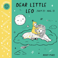 Book cover for Baby Astrology: Dear Little Leo