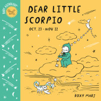Book cover for Baby Astrology: Dear Little Scorpio