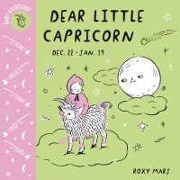 Book cover for Baby Astrology: Dear Little Capricorn