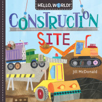 Book cover for Hello, World! Construction Site