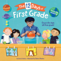 Book cover for The 12 Days of First Grade