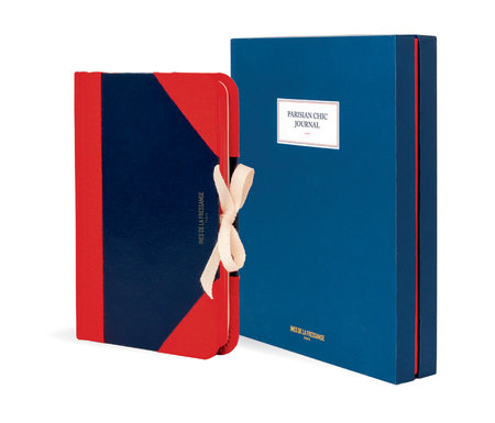 Parisian Chic Journal (blue, medium)