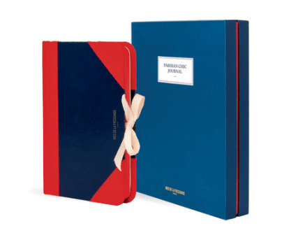 Parisian Chic Journal (blue, medium) - Written by Ines de la Fressange