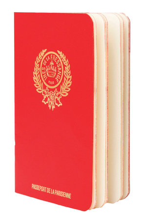 Parisian Chic Passport (red)
