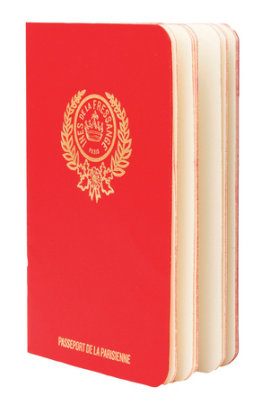 Parisian Chic Passport (red) - Written by Ines de la Fressange