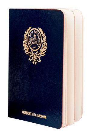 Parisian Chic Passport (blue)
