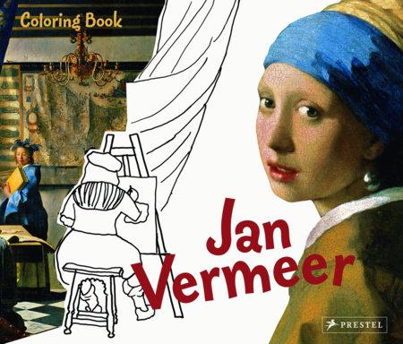 Coloring Book Jan Vermeer