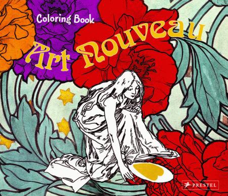 Coloring Book Art Nouveau