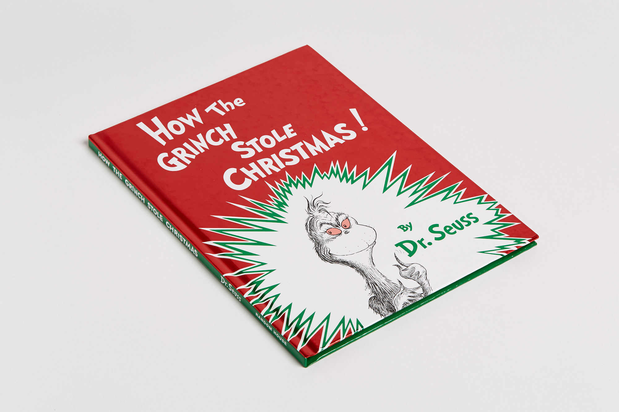 How The Grinch Stole Christmas Book Cover.How The Grinch Stole Christmas Penguin Random House Retail